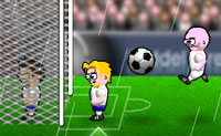 Head action soccer