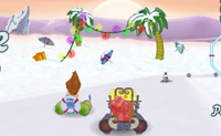 3D Snow Kart Rally