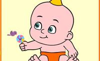 Süßes kleines Baby