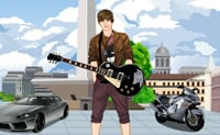 Justin Bieber aankleden