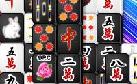 Mahjong en blanco y negro