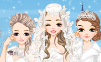 Zimowe Ślubne Stroje
