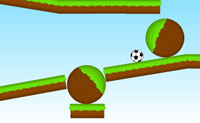 Rollende voetbal