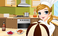 Tessa prepara lo Zuccotto