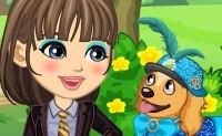 Dora e il suo cagnolino