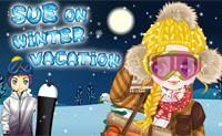 Sue de vacaciones invernales