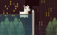 Spuckendes Lama