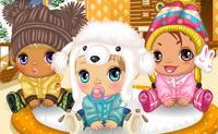 Bébés en hiver