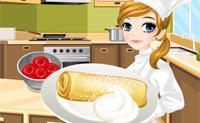 Tessa hace Apfelstrudel