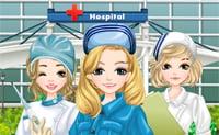 Viste a enfermeras