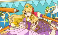 Colorea a la princesita