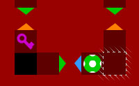 Labyrinth in Schichten: Farbenchaos