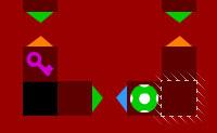 Labirinto por camadas: caos colorido
