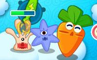 Defiende la zanahoria gigante