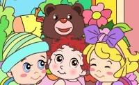 Colorido mundo de bebés