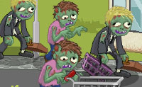 Au supermarché des zombies