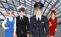 Mode im Flugzeug