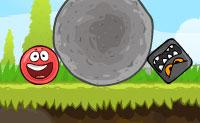 Boule rouge 4
