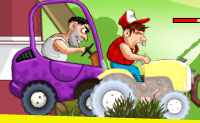 Śmieszny Traktor