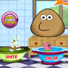 Pou Washing Clothes Spiele