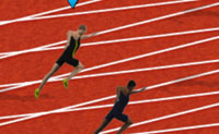 100 Metres Race Olympics
