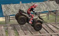 ATV Trials Beach 2