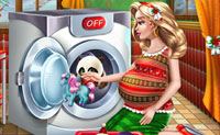 Mommy Washing Toys