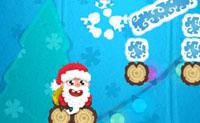 Kerstman wakker maken