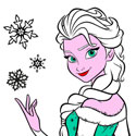 Elsa: Mandala Coloring Book