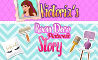 Victoria's Room Deco Pinterest Story