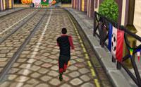 Cristiano Ronaldo biegać