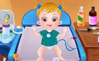 Baby Hazel ziek