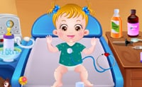 Baby Hazel sick