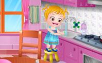 Baby Hazel Manieren