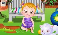 Baby Hazel wondje